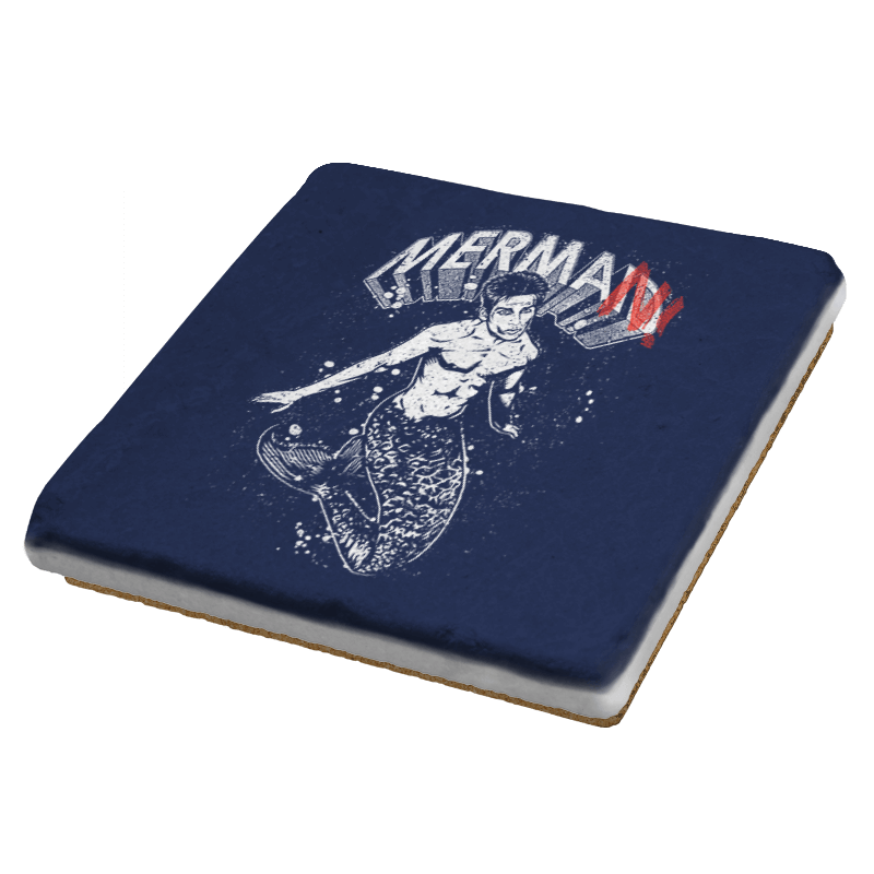 MerMan - Coasters - Coasters - RIPT Apparel
