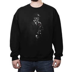 The Catfather - Crew Neck Sweatshirt - Crew Neck Sweatshirt - RIPT Apparel
