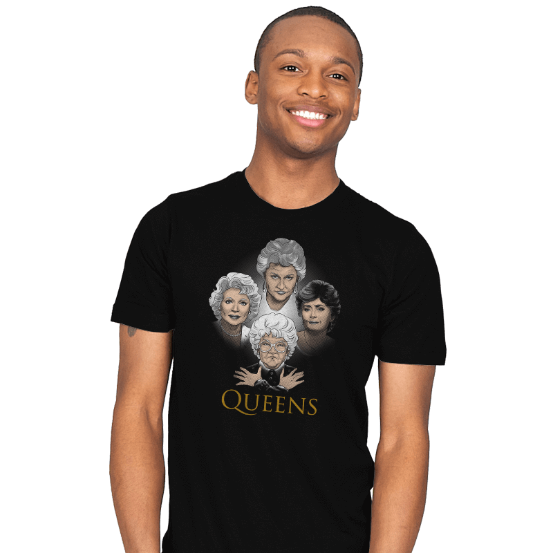 Golden Queens - Mens - T-Shirts - RIPT Apparel