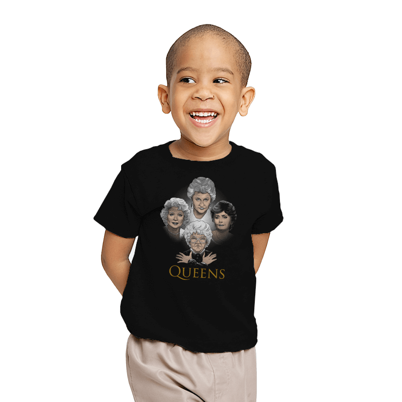 Golden Queens - Youth - T-Shirts - RIPT Apparel