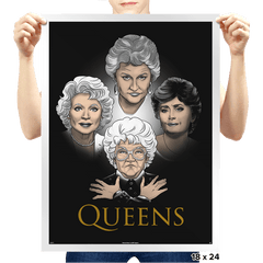 Golden Queens - Prints - Posters - RIPT Apparel