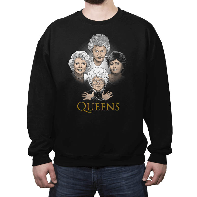 Golden Queens - Crew Neck Sweatshirt - Crew Neck Sweatshirt - RIPT Apparel