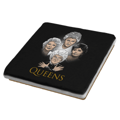 Golden Queens - Coasters - Coasters - RIPT Apparel