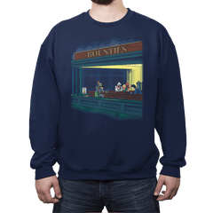 Bounty Hawks - Crew Neck Sweatshirt - Crew Neck Sweatshirt - RIPT Apparel
