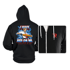 I Have Red On Me - Hoodies - Hoodies - RIPT Apparel