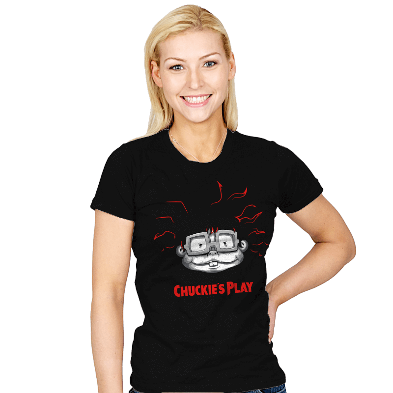 Chuckie's Play - Womens - T-Shirts - RIPT Apparel