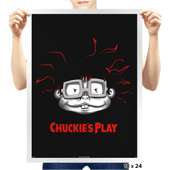 Chuckie's Play - Prints - Posters - RIPT Apparel