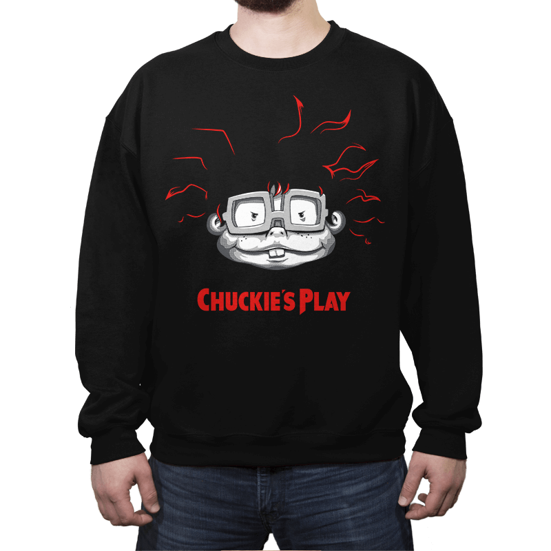Chuckie's Play - Crew Neck Sweatshirt - Crew Neck Sweatshirt - RIPT Apparel