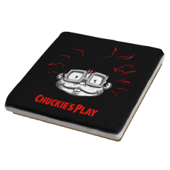 Chuckie's Play - Coasters - Coasters - RIPT Apparel