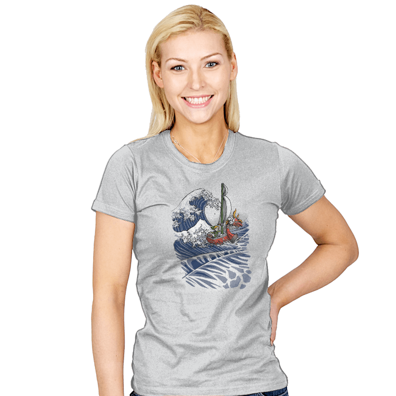 The Wave Waker - Womens - T-Shirts - RIPT Apparel