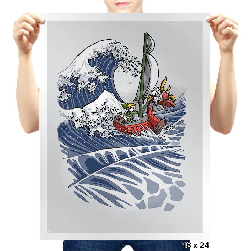 The Wave Waker - Prints - Posters - RIPT Apparel