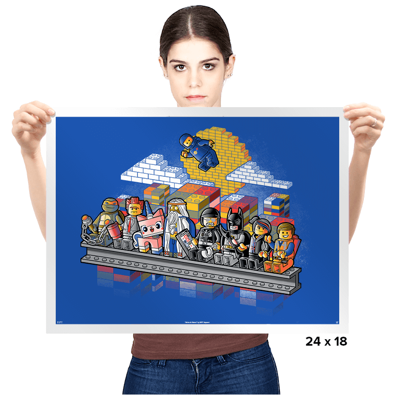 Lego workers - Prints - Posters - RIPT Apparel