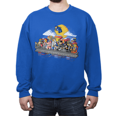 Lego workers - Crew Neck Sweatshirt - Crew Neck Sweatshirt - RIPT Apparel