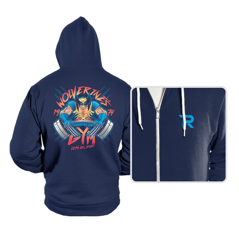 Logan's Gym - Hoodies - Hoodies - RIPT Apparel