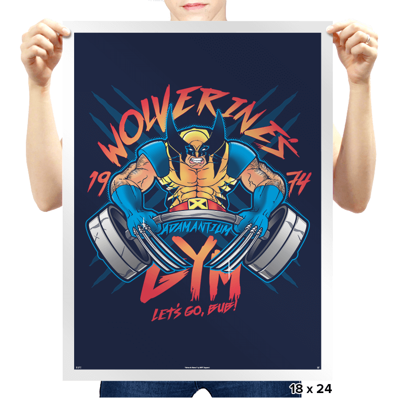 Logan's Gym - Prints - Posters - RIPT Apparel