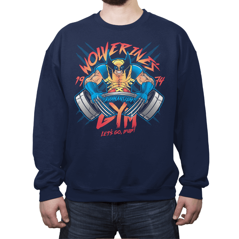 Logan's Gym - Crew Neck Sweatshirt - Crew Neck Sweatshirt - RIPT Apparel