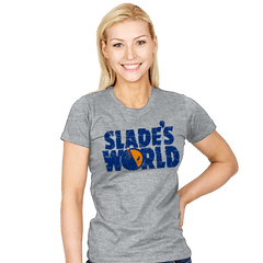 SLADE'S WORLD - Womens - T-Shirts - RIPT Apparel