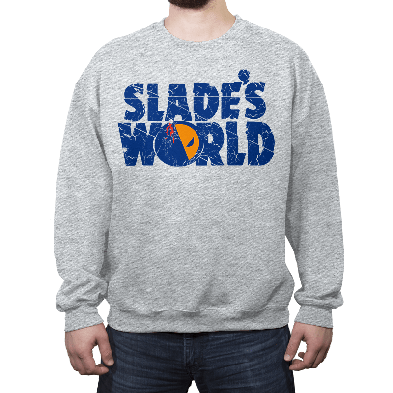 SLADE'S WORLD - Crew Neck Sweatshirt - Crew Neck Sweatshirt - RIPT Apparel