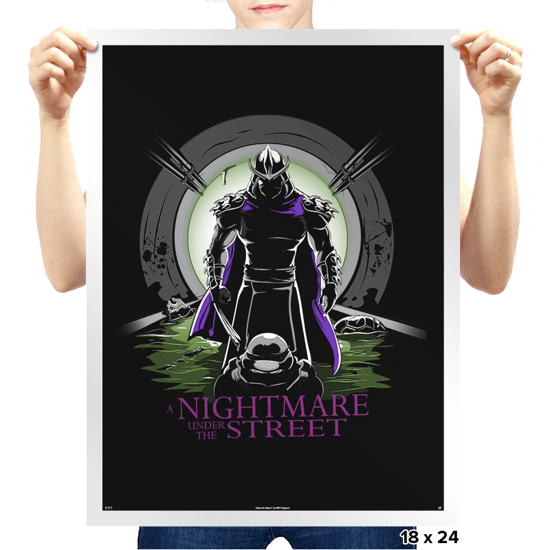 A Nightmare Under the Street - Prints - Posters - RIPT Apparel