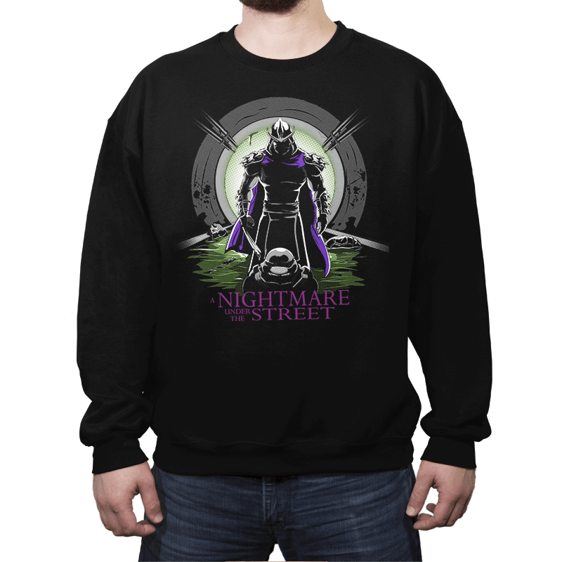 A Nightmare Under the Street - Crew Neck Sweatshirt - Crew Neck Sweatshirt - RIPT Apparel