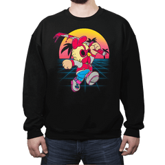 Hotline Plumber - Crew Neck Sweatshirt - Crew Neck Sweatshirt - RIPT Apparel