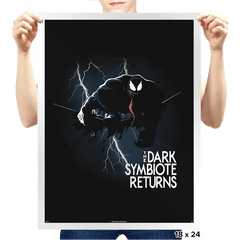 The Dark Symbiote Returns - Prints - Posters - RIPT Apparel