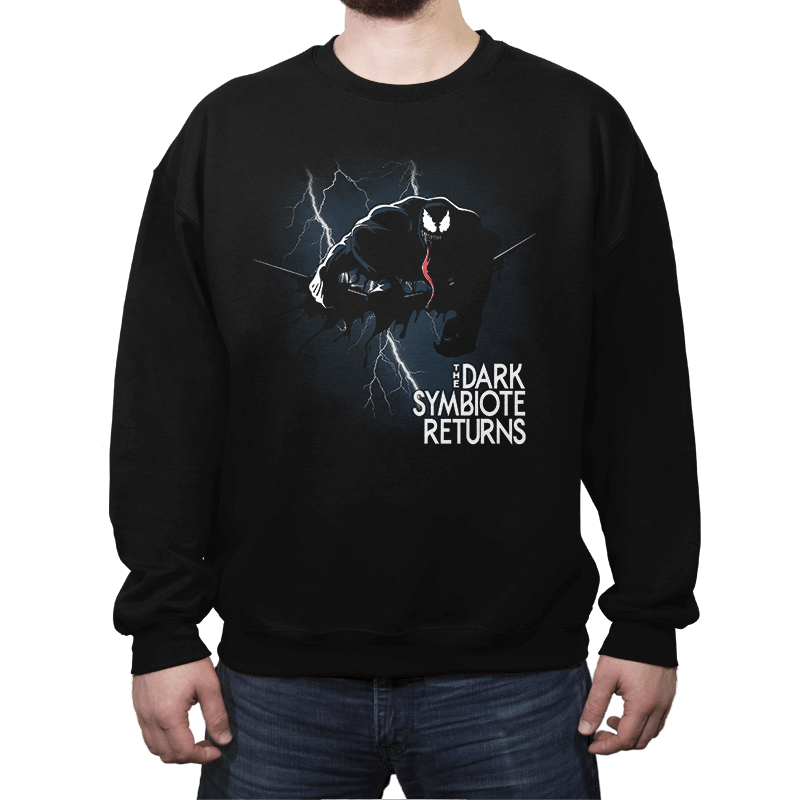 The Dark Symbiote Returns - Crew Neck Sweatshirt - Crew Neck Sweatshirt - RIPT Apparel