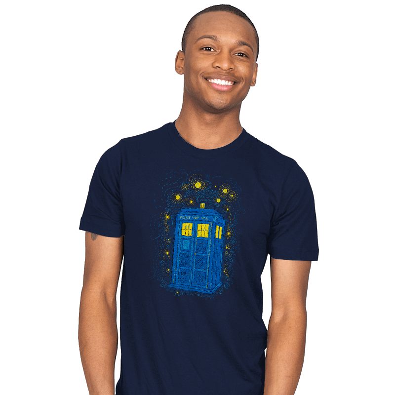 Space Time Impressionism Reprint - Mens - T-Shirts - RIPT Apparel