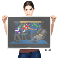 Bat Fight Exclusive - Prints - Posters - RIPT Apparel
