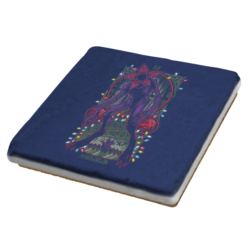 The Demogorgan Tarot Card Exclusive - Coasters - Coasters - RIPT Apparel