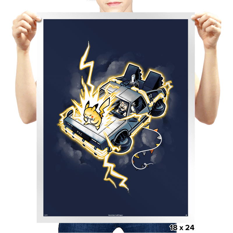 Time Travel - I Choose You! Exclusive - Prints - Posters - RIPT Apparel