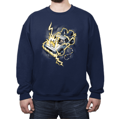 Time Travel - I Choose You! Exclusive - Crew Neck - Crew Neck Sweatshirt - RIPT Apparel