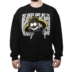 The Killing D'oh! - Crew Neck Sweatshirt - Crew Neck Sweatshirt - RIPT Apparel