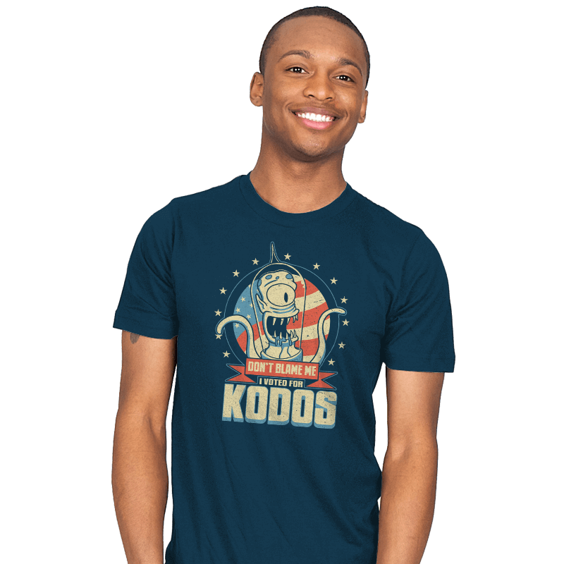 I Voted for Kodos Exclusive - Mens - T-Shirts - RIPT Apparel