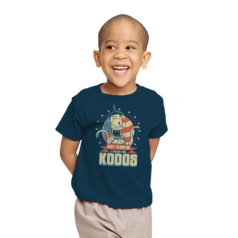I Voted for Kodos - Youth - T-Shirts - RIPT Apparel