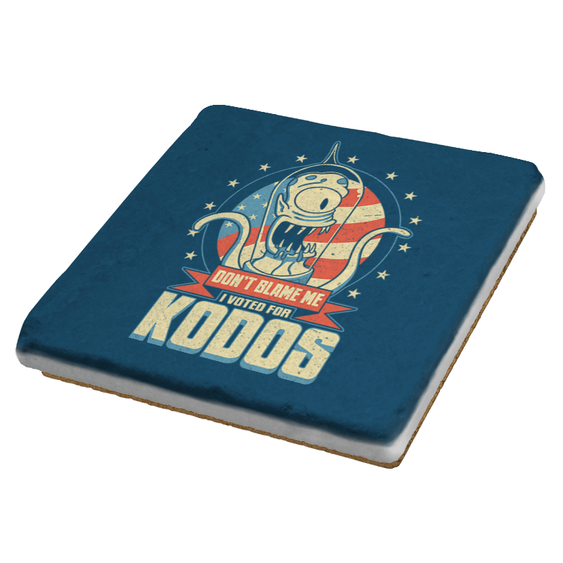 I Voted for Kodos - Coasters - Coasters - RIPT Apparel