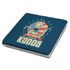 I Voted for Kodos Exclusive - Coasters - Coasters - RIPT Apparel
