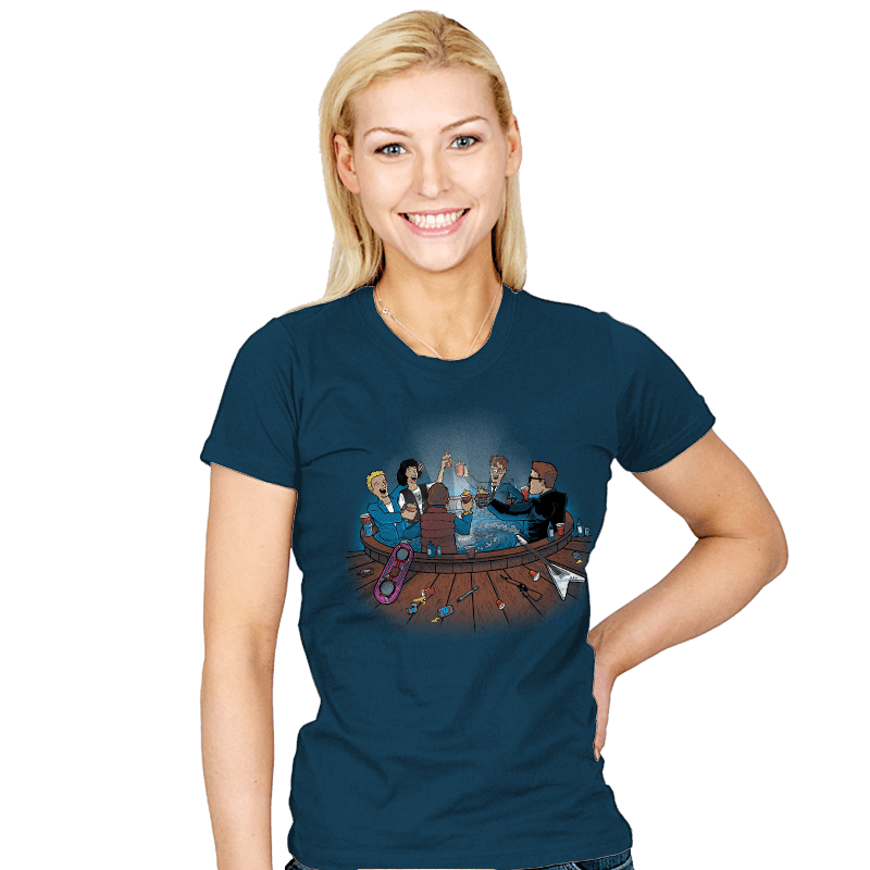 Hot Tub Time Travelers - Womens - T-Shirts - RIPT Apparel