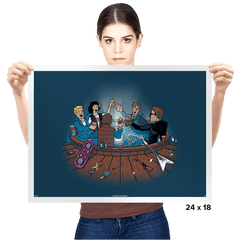 Hot Tub Time Travelers - Prints - Posters - RIPT Apparel