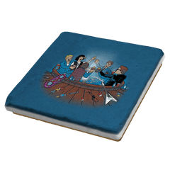 Hot Tub Time Travelers - Coasters - Coasters - RIPT Apparel