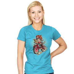 Big Adventure Fink - Womens - T-Shirts - RIPT Apparel