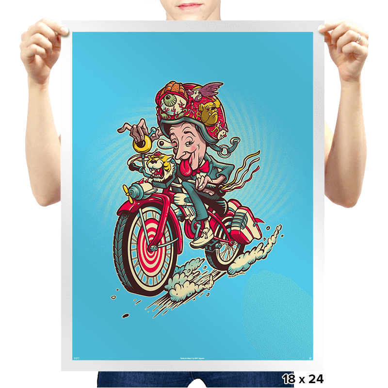Big Adventure Fink - Prints - Posters - RIPT Apparel
