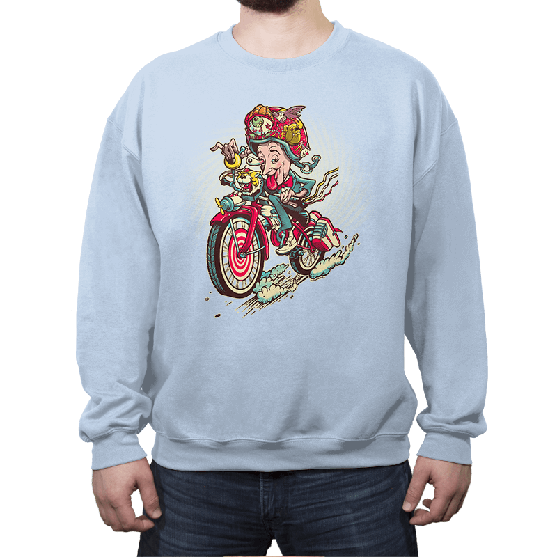 Big Adventure Fink - Crew Neck Sweatshirt - Crew Neck Sweatshirt - RIPT Apparel