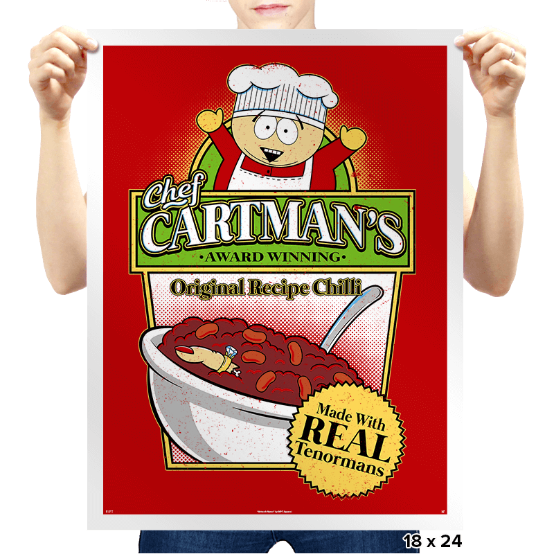 Tenorman Chilli - Prints - Posters - RIPT Apparel