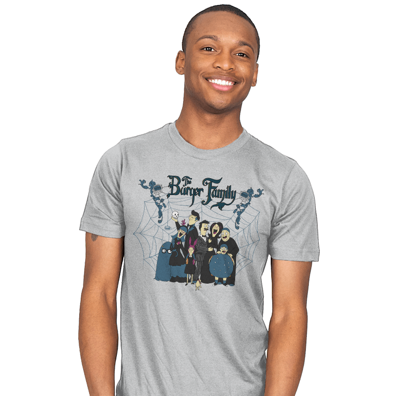The Burger Family - Mens - T-Shirts - RIPT Apparel