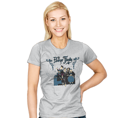 The Burger Family - Womens - T-Shirts - RIPT Apparel