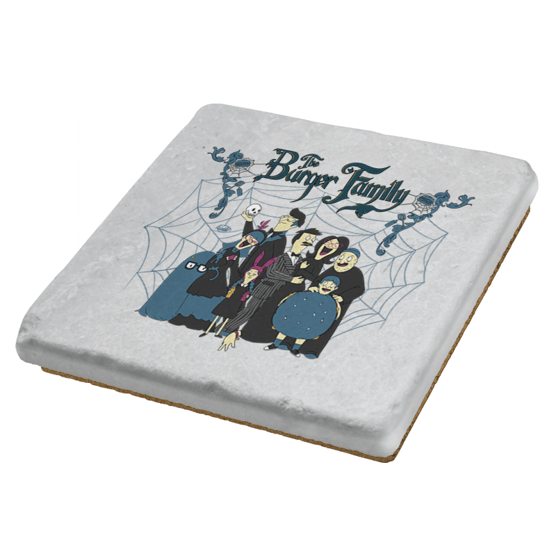 The Burger Family - Coasters - Coasters - RIPT Apparel