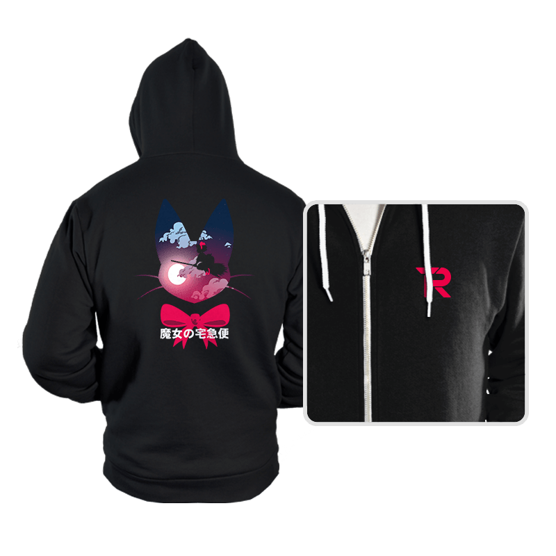 Flying witch - Hoodies - Hoodies - RIPT Apparel
