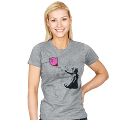 Kirbanksy - Womens - T-Shirts - RIPT Apparel