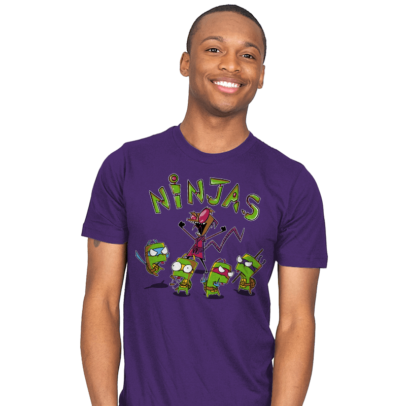 Invader Turtles - Mens - T-Shirts - RIPT Apparel